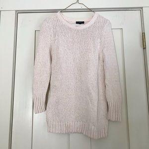 JCrew Cream Sweater